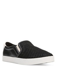 Dr. Scholl's Scout Leather Slip On Sneakers Black