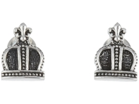 King Baby Studio Imperial Crown Post Earrings