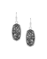 Danay Druzy Agate Earrings Kendra Scott Rose Gold Drusy