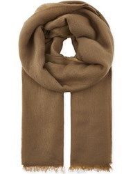 Sandro Reversible Scarf Camel