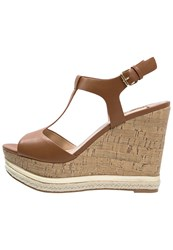 Dorothy Perkins Poppa High Heeled Sandals Tan Brown