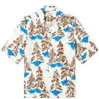 Acne Studios Simon Pine Vacation Shirt Brown