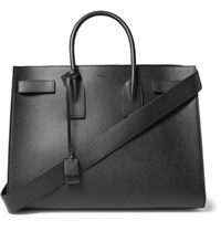 Saint Laurent Sac De Jour Large Grained Leather Tote Bag Black