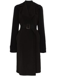 Rick Owens Belted Trench Coat 60