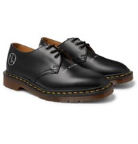 Undercover Dr. Martens 1461 Printed Leather Derby Shoes Black