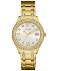 Guess Women's Waverly Gold Tone Stainless Steel Bracelet Watch 38Mm U0848l2