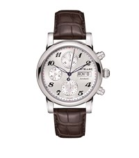 Montblanc Star Chronograph Automatic Watch Silver