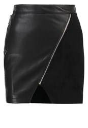 Morgan Jisa Mini Skirt Noir Black