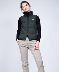 Aspesi Sleeveless Down Jacket Ginger Dark Green