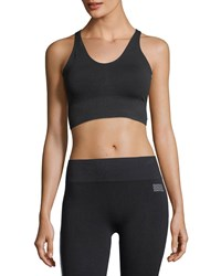 Monreal London Hi Tech Seamless Sports Bra Black