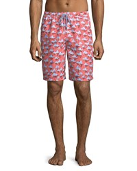 Peter Millar Polar Plunge Swim Trunks Medium Blue