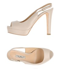 The Seller Footwear Sandals Women Beige