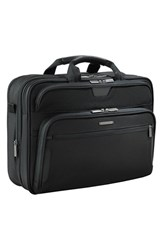Briggs And Riley Men's 'Large' Ballistic Nylon Expandable Briefcase