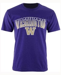 Colosseum Men's Washington Huskies Gradient Arch T Shirt Purple