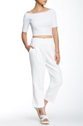 Endless Rose When In Nyc Pant White