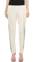 Ramy Brook Lucas Pants Ivory Black