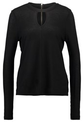 Noisy May Nmmarona Long Sleeved Top Black