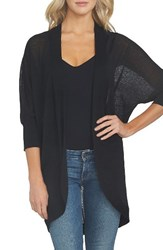 1.State Women's Linen Blend Cocoon Cardigan