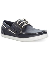 Unlisted A Kenneth Cole Production Boat Ing License Boat Shoes Men's Shoes Navy