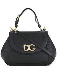 Dolce And Gabbana Wifi Shoulder Bag Black