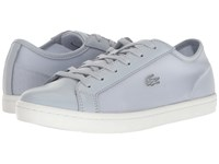 Lacoste Straightset 217 1 Light Grey Women's Shoes Gray