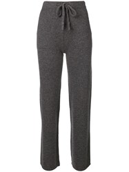Woolrich Loose Fitted Track Trousers Grey