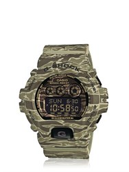 G Shock Premium Green Camouflage Digital Watch