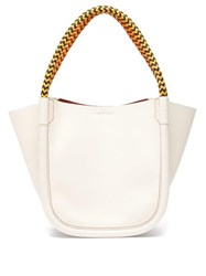 Proenza Schouler Xs Rope Handle Leather Tote White