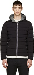 Colmar Black Quilted And Hooded Down Coat