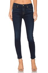 7 For All Mankind The Ankle Released Hem Skinny Tranquil Blue