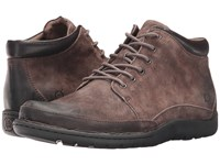 Born Nigel Boot Grey Grey Combo Lace Up Boots Brown