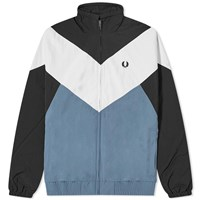 Fred Perry Authentic Chevron Track Jacket Blue