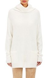 Vince. Women's Cashmere Turtleneck Sweater Colorless