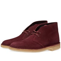 Clarks Originals Desert Boot Burgundy
