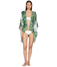 Collection Xiix Tropical Leaves Cover Up Green Clothing