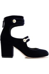 Isa Tapia High Heel Midnight Blue