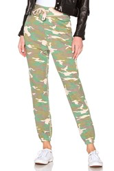 Nsf Isabella High Waisted Sweatpant Army