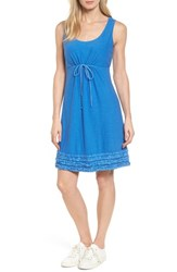 Tommy Bahama Women's Arden Ruffle Hem Dress Cobalt