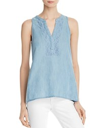 Soft Joie Kerryn Sleeveless Chambray Top Vintage Chambray