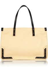 Tomas Maier Textured Leather Tote White