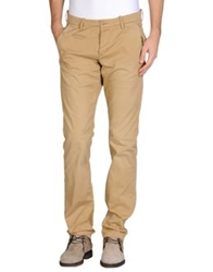 Uniform Casual Pants Coral