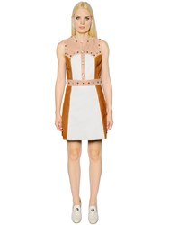 Drome Studded Leather Dress