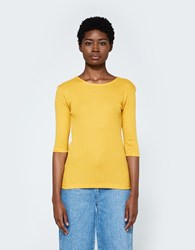 Just Female Vespa Tee In Sunflower