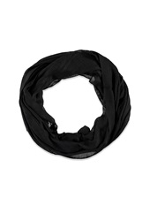 Forever 21 Loose Knit Infinity Scarf Black