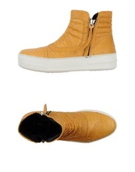 Bb Washed By Bruno Bordese Ankle Boots Sand
