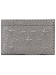 Jimmy Choo Dean Card Holder Grey