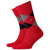 Burlington Manchester Short Socks One Size Red