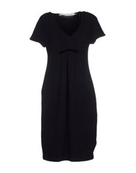 Laviniaturra Knee Length Dresses Black
