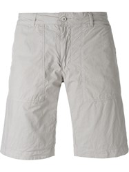 Woolrich Reversible Chino Shorts Nude And Neutrals