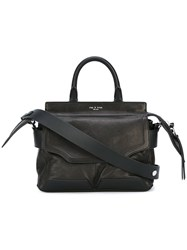 Rag And Bone Small Pilot Satchel Black